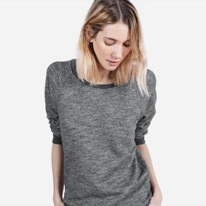 EVERLANE Grey Crew Neck Sweatshirt
